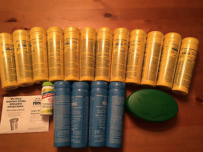 2-3 DAY SHIPPING Spa Frog Kit 16 pack-12 Bromine & 4 Mineral  FAST SHIP!