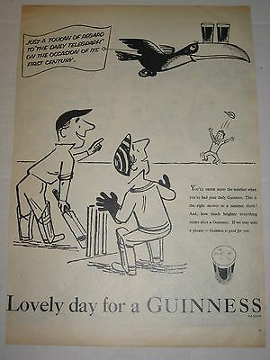 Vintage 1955 Advertisement - Guinness