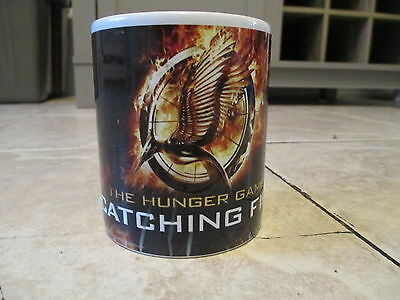 Hunger Games Catching Fire Mockingjay Pin Mug Cup