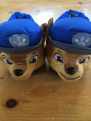 Paw Patrol Slippers Kids Shoes Size 8 9 10 Excellent Condition