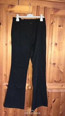 Girls Next Black School Trousers Age 12