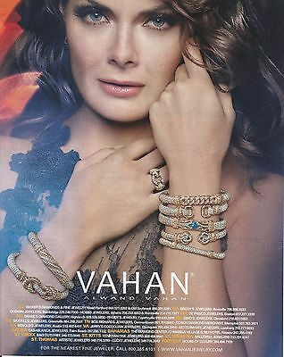 2016 Alwand Vahan jewelry  print ad    Great to frame!