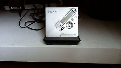 sony portable minidisk player