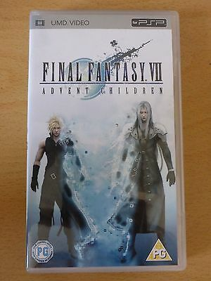 Final Fantasy VII (7) Advent Children - UMD Video - Sony PSP