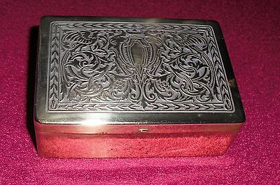 Brass Cigarette Box - State Express Cigarettes