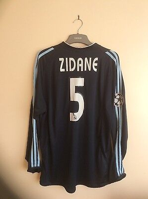 "Real Madrid  Football Shirt   2003 - 2004  ""zidane 5"""