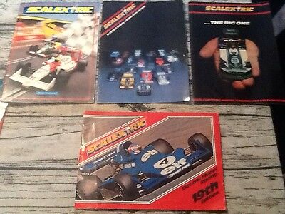 Scalextric - Paperwork - All in Fair to Good Condition