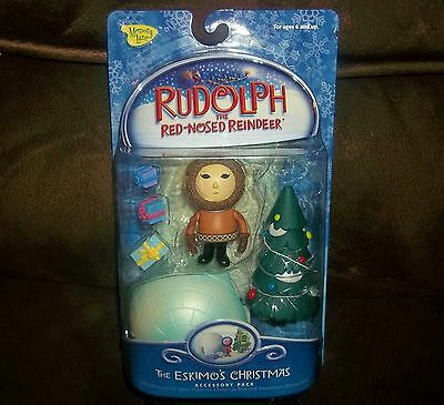New RUDOLPH the RED NOSED Reindeer THE ESKIMO'S CHRISTMAS ~ Figure ~ MEMORY LANE