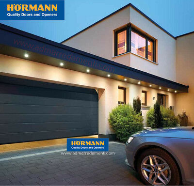 Porta sezionale box auto garage Hormann RENOMATIC L-2500 H-2125 mm