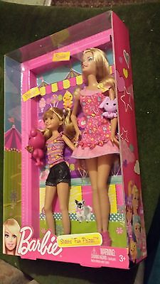 Barbie Sisters Fun Prizes / Stacey and Barbie by Mattel / Brand New/Rare