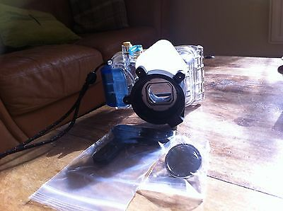 Camera  Canon WP-DC5 Waterproof Case including AD Mount Base