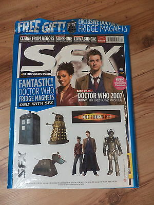 SFX Magazine Doctor Who Special (2007) With Free Fridge Magnets New Sealed