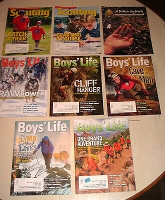 Boy's Life and other related magazines