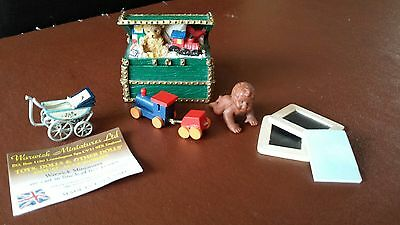 Mixed lot Dollhouse Nursery Items