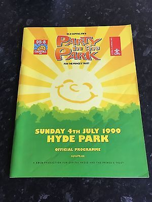Party In The Park (1999) Programme