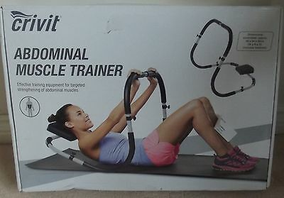Crivit Adominal Muscle Trainer Ab Crunch Gym Exercise Machine New