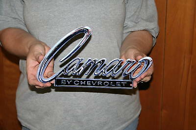 NEW CHEVROLET Camaro Metal Sign 1968-69 Header Deck -12x6