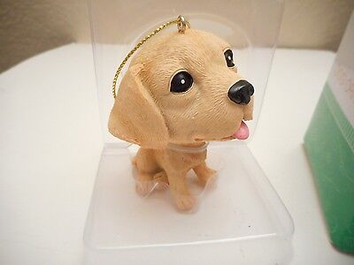 Home Elements Golden Retriever  Dog Ornament  New In Sealed Box