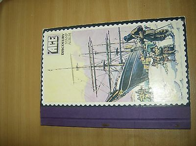1970s ace discovery stamp album