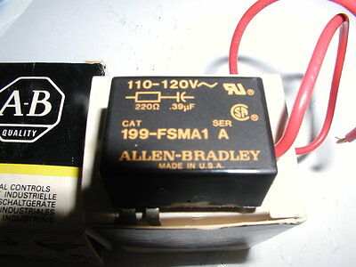 (Lot of 2) Allen Bradley 199-FSMA1 Surge Suppressors Series A NEW IN BOX!
