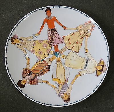Heinrich Germany Villeroy & Boch 1979 The International Year Of The Child Plate