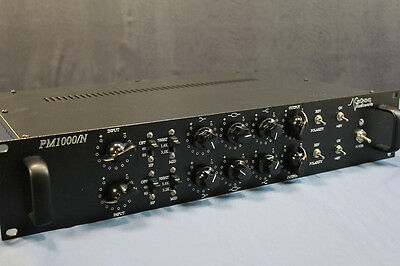 Vintage Yamaha PM1000 mic preamps. Racked and Ready.
