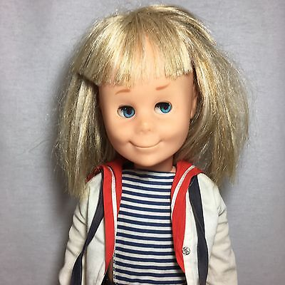 DARLING VINTAGE 1960s MATTEL CHARMIN CHATTY DOLL IN ORIGINAL OUTFIT