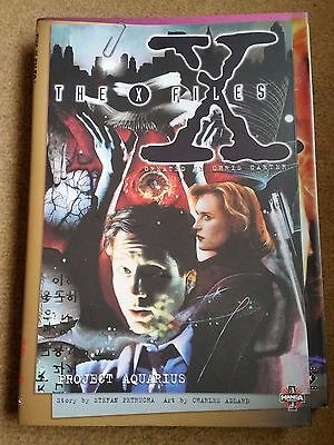 The X Files Project Aquarius Graphic Novel 1996 Manga Books, as new condition