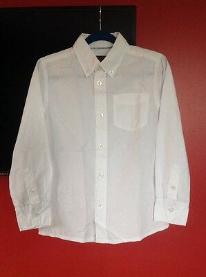 Boys Esprit White Shirt Age 6-7 Immaculate!