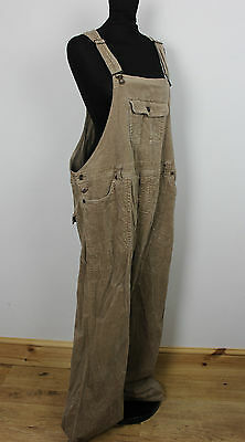 Vintage  Corduroy Ladies Dungarees Festival Grunge Overalls Womens Playsuit L