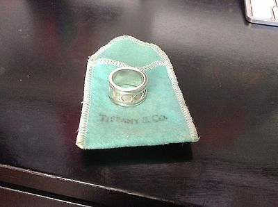 Tiffany & Co. Atlas Ring, 925 Sterling Silver, Size:  5.5