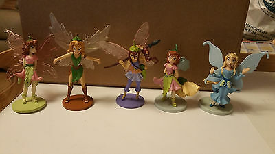 Disney Peter Pan Figure Bundle - TINKERBELL FAIRIES