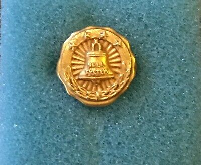 1950S Bell Phone System Pin Gold Filled L.G. Balfour