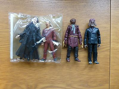 4 Doctor Who figures Dr who