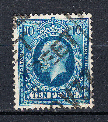 GREAT BRITAIN - 1934 - SG # 448 - 10d blue - used - King George V - C797