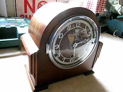 Bentima Westminster Chimes 8 Day Mantle Clock