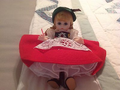 "Madame Alexander - ""SWISS"" Doll - Bent Knee - Circa 1960's GREAT SHAPE - NO BOX"