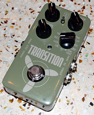 TC Electronic Transition Delay Echo Looper Effects Pedal Excellent Condition