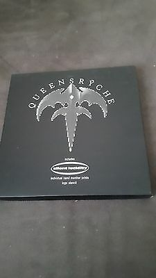 """Queensryche Silent Lucidity 7"""" Vinyl Box Set (with Stencil and prints)"""