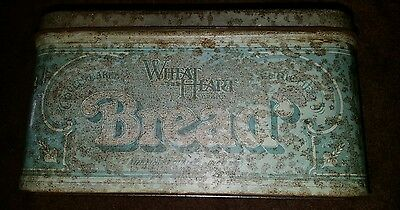 antique bread bin
