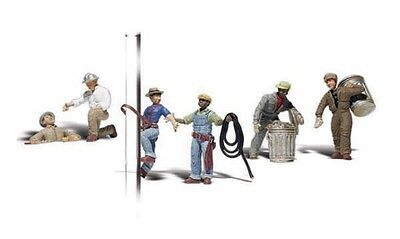 Woodland Scenics / SCENIC ACCENTS #2742 O SCALE - CITY WORKERS - NEW A2742