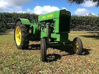 John Deere  Model D 1/2 Scale Tractor Rare! Can Ship