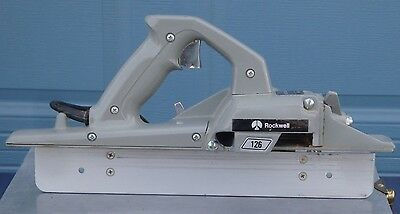 Rockwell Porta-plane 126 Planer With Metal Case and Porta-Cable Carbide Cutter