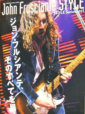 John Frusciante Style book photo guitar Red Hot Chili Peppers RHCP Stratocaster