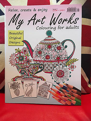 My Art Works: Colouring for Adults - Issue 1