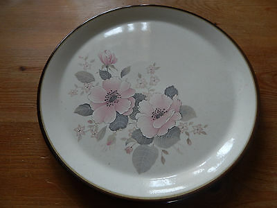 Vintage Purbeck Pottery Large Round Platter (B4)
