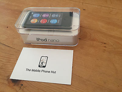 NEW SEALED Apple iPod NANO 7th Generation A1446 SPACE GREY (16GB) LATEST RELEASE