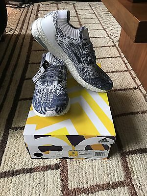 Adidas Ultra Boost Uncaged Size 9 DS BA9616 Black & White