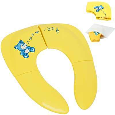 portable toilet seat for toddlers Silicone Pads Folding Travel Baby Training