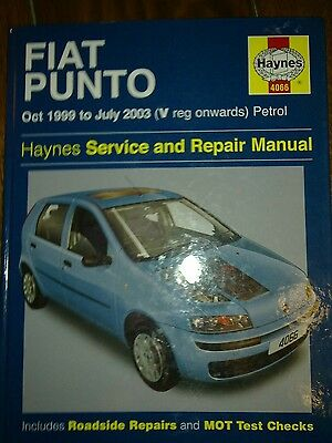 haynes car manual fiat punto